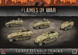 Sd Kfz 251 Transport Platoon
