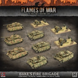 German Army Box Bake's Fire Brigade