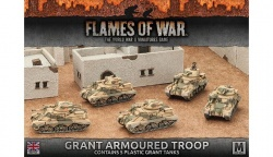Desert Rats Grant Armoured Troop (Plastic)