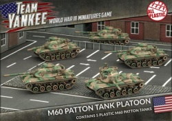 M60 Patton Tank Platoon (x5)