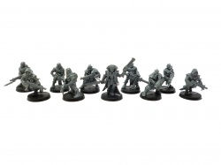 Dark Vengeance Chaos Space Marine Cultists Sect Tetchvar