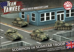 Scorpion or Scimitar Troop