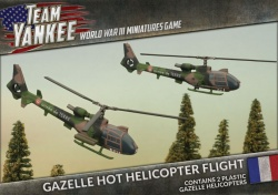 Gazelle HOT Helicopter Flight (Plastic x2)