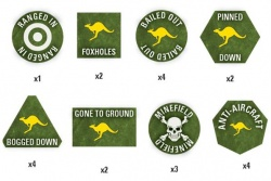 Team Yankee Australian Token Set (x22)