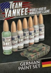 Team Yankee German Paint Set (7 paints)
