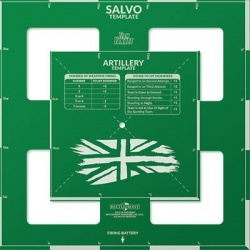 British Artillery and Salvo Template