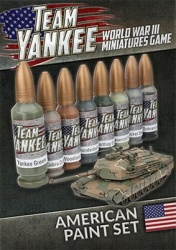 Team Yankee American Paint Set (8 paints)