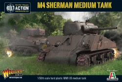 M4 Sherman Medium Tank (75) Plastic Kit
