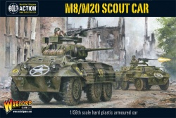 M8 or M20 Greyhound Scout Car Plastic Kit