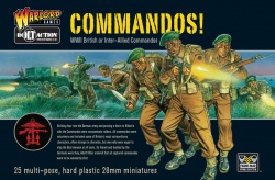 British Commandos Plastic Kit