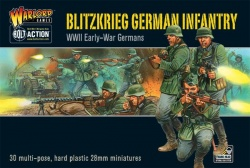 Blitzkrieg! German Early War Infantry Plastic Kit
