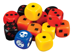 Hellboy: The Board Game - Dice booster