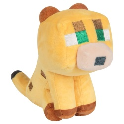 Minecraft Happy Explorer Plush Figure Baby Ocelot 14 cm