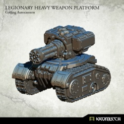 Legionary Heavy Weapon Platform Gatling Autocannon
