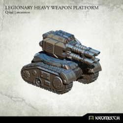 Legionary Heavy Weapon Platform Quad Lascannon
