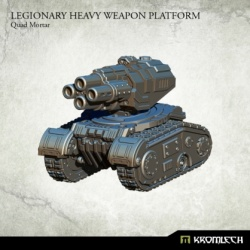 Legionary Heavy Weapon Platform Quad Mortar
