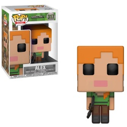 Minecraft POP! Games Vinyl Figure Alex 9 cm