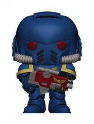 Warhammer 40K POP! Games Vinyl Figure Ultramarines Intercessor 9 cm