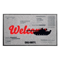 Call of Duty: Black Ops Cold War Doormat Welcome 44 x 75 cm