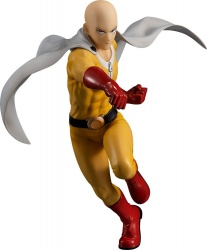 One Punch Man Pop Up Parade PVC Statue Saitama Hero Costume Ver. 18 cm