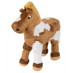 Minecraft Plush Figure Horse 33 cm