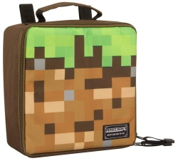 Minecraft Insulated Lunch Bag Dirt Block