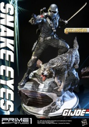 G.I. Joe Statue Snake Eyes Exclusive 65 cm