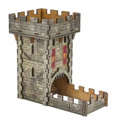 Medieval Dice Tower Colour