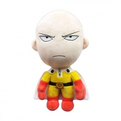 One-Punch Man Plush Figure Saitama Angry Version 28cm