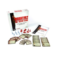 Resident Evil 2 The Board Game Expansion Survival Horror