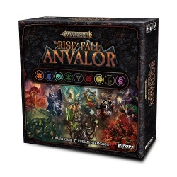 Warhammer Age of Sigmar Board Game The Rise & Fall of Anvalor English Version