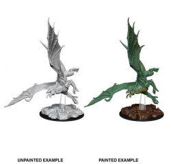 D&D Nolzur's Marvelous Miniatures Unpainted Miniature Young Green Dragon