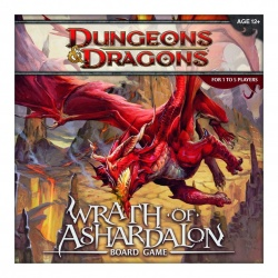 Dungeons & Dragons Board Game Wrath of Ashardalon