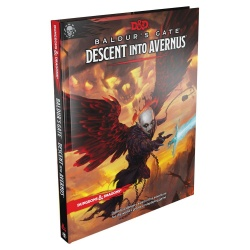 Dungeons & Dragons RPG Adventure Baldur's Gate: Descent Into Avernus English