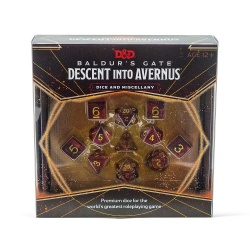 Dungeons & Dragons RPG Baldur's Gate: Descent into Avernus - Dice & Miscellany English