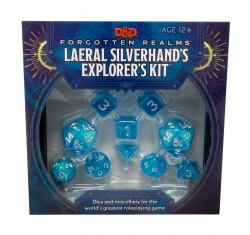 Dungeons & Dragons Forgotten Realms: Laeral Silverhand's Explorer's Kit - Dice & Miscellany