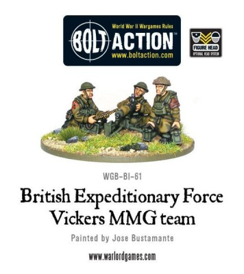 BEF Early War Vickers MMG Team