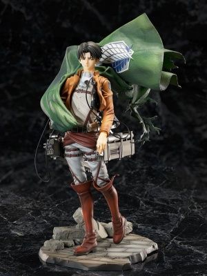 Attack on Titan Levi PVC Statue 1/7 24 cm