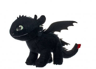 How to Train Your Dragon 3 Plush Figure Toothless Glow In The Dark 32cm