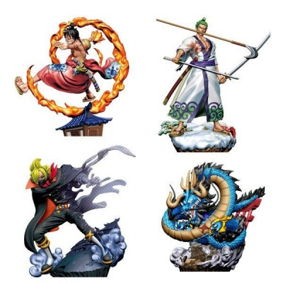 One Piece Log Box Trading Figure 8 cm Re: Birth Wanokuni Vol. 1