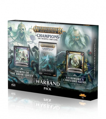 Warhammer Age of Sigmar: Champions Warband Collectors Pack Series 1 English