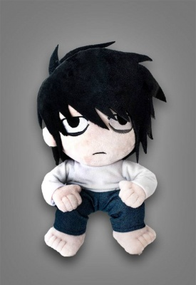Death Note Plush Figure L Lawliet 25 cm